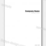 "<span class=""title"">白をベースに美しいタイポグラフィーで魅せる会社案内 5日で納品:会社案内 CFD14704</span>"